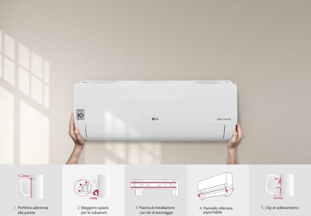 LG Smart Inverter installazione
